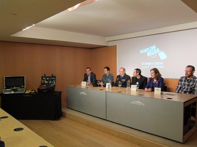 Presentación del programa en Baluarte.