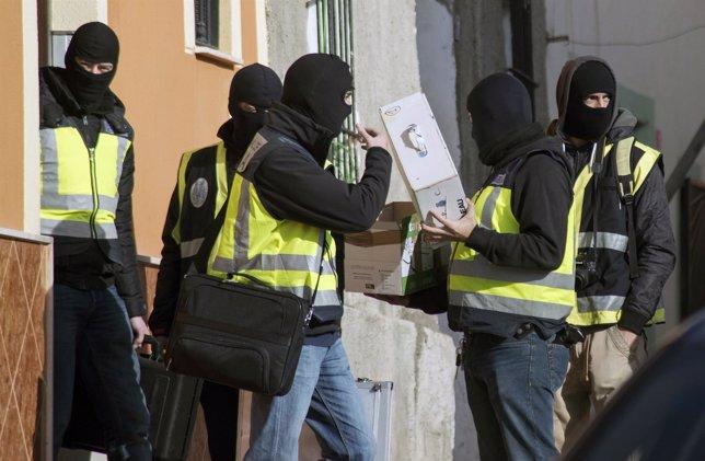 Operación policial española contra el yihadismo en Melilla