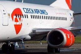 Avión de Czech Airlines