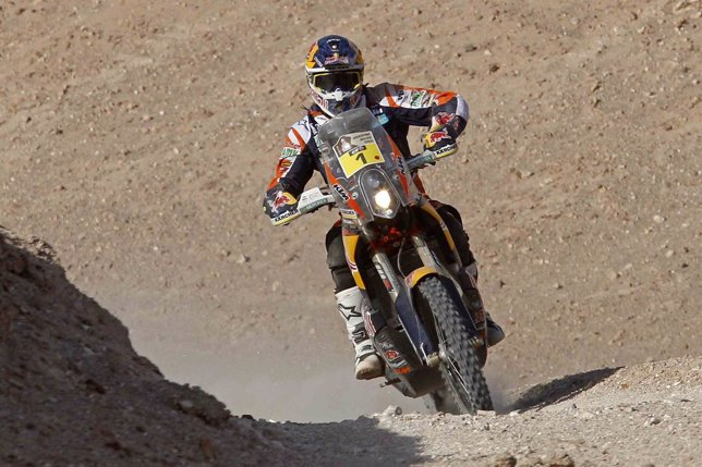 Marc Coma en el Dakar