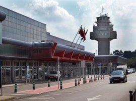 El aeropuerto pierde un 16,3% de pasajeros