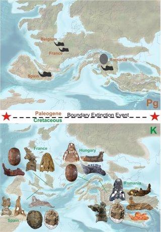 dinosaurios en Europa