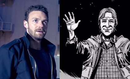 The Walking Dead ficha a Ross Marquand