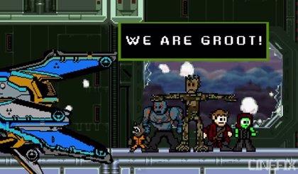 VÍDEO: Guardianes de la Galaxia, en versión 8 bits