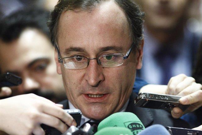 Alfonso Alonso en la Comisión de Sanidad y Servicios Sociales