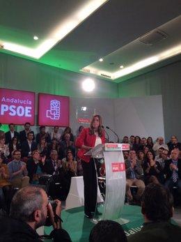 Susana Díaz, en Málaga