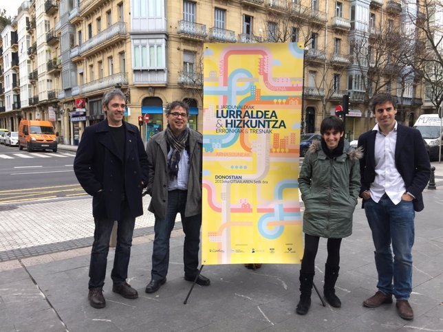 Ezkerretik eskuinera: Etxeburua, Bilbao, Belaustegi eta Fernandez de Betoño