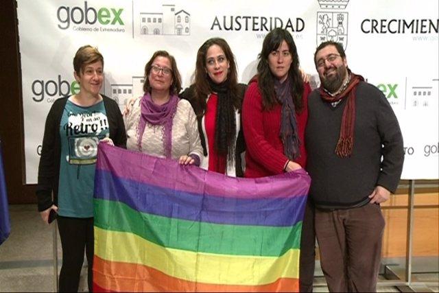 Presentación de ley LGTBI