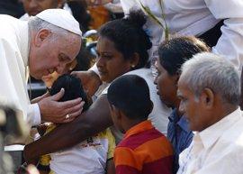 La visita del Papa a Sri Lanka y Filipinas, en imágenes