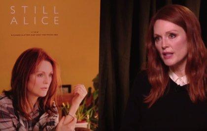 """Julianne Moore (Siempre Alice): """"Conocer el Alzheimer fue muy interesante"""""""