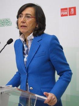 La portavoz de Justicia del PSOE en el Congreso, Rosa Aguilar