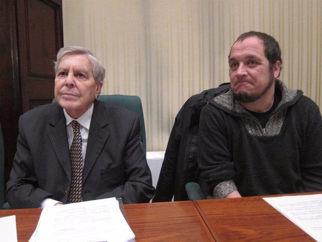 Carlos Jiménez Villarejo y David Fernàndez, en la comisión que invetsiga fraude