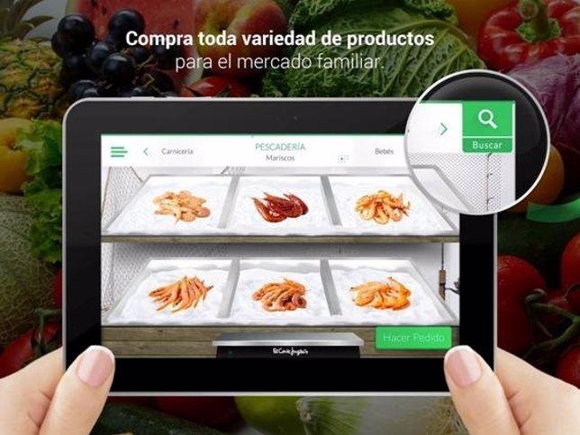 Aplicación de El Corte Inglés compra online Supermercado