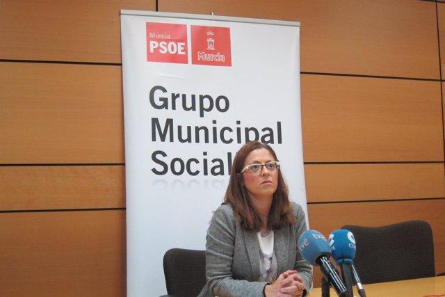 Susana Hernández, portavos PSOE Ayuntamiento de Murcia