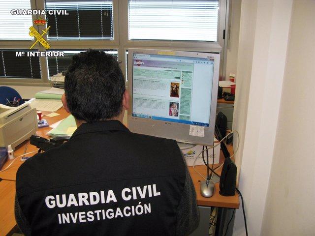 El Área de Investigación de la Guardia Civil es la encargada del caso