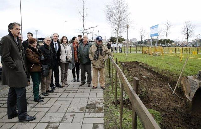 Comienzo de las obras del carril bici Castilla-Hermida y Nueva Montaña