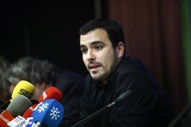 Garzón evita ahondar en la polémica con IU Madrid y rechaza también valorar la querella del PP contra Tania Sánchez