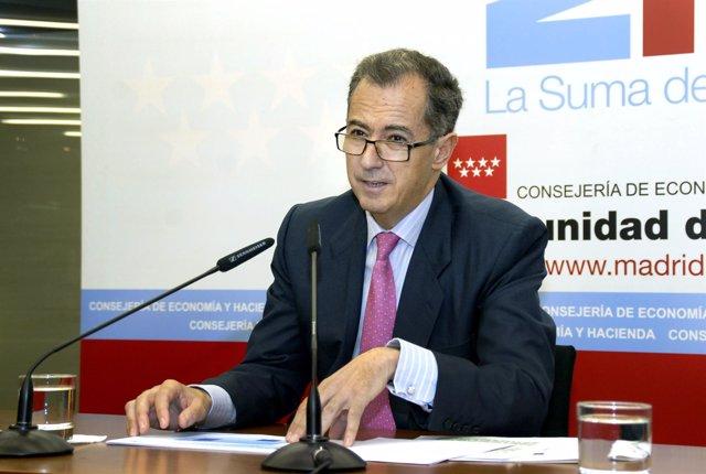 Consejero de Economía y Hacienda, Enrique Ossorio