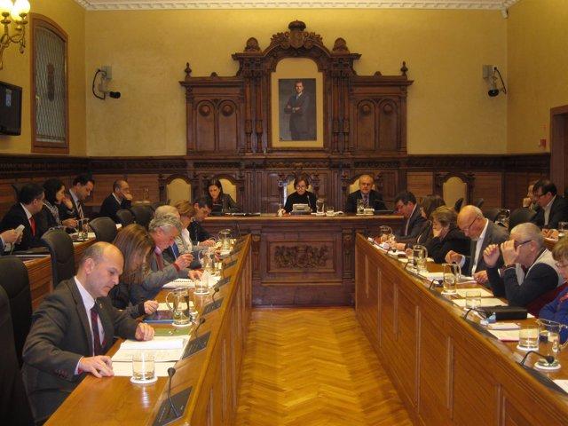 Pleno ayunatmiento Gijón, del 16 de enero de 2015