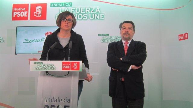 El vicepresidente del Congreso de los Diputados, Javier Barrero, y Rodríguez.