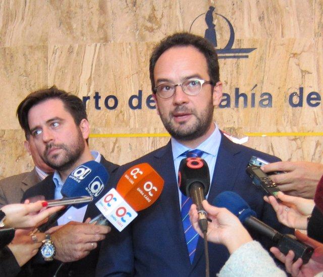 Antonio Hernando, portavoz del Grupo Parlamentario Socialista en el Congreso