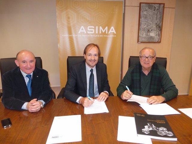 Francisco Martorell, Antoni Serra y Miguel Bordoy