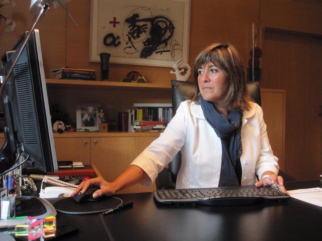 Núria Marín, alcaldesa de L'Hospitalet de Llobregat (Archivo)