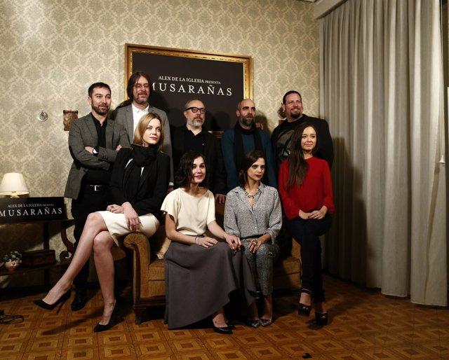 El equipo de 'Musarañas'