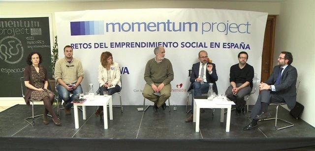 Momento de las jornadas 'Momentum project 2015' organizadas por BBVA