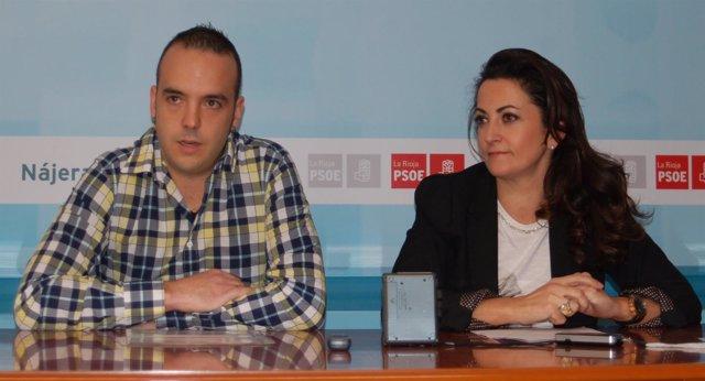 Jonás Olarte y Concha Andreu
