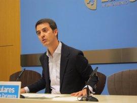 El PP critica que el PSOE inicia su campaña electoral al adjudicar el estudio de la línea 2 del tranvía
