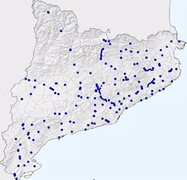 Puntos de mejora de la seguridad en las carreteras catalana