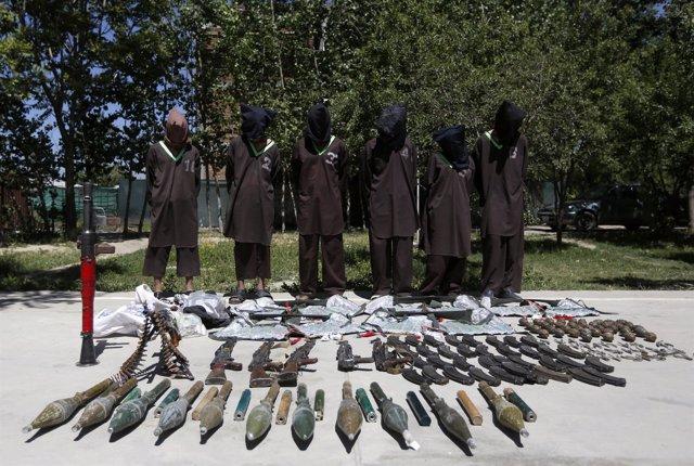 Sospechosos de pertenecer a la red Haqqani esperan a ser ejecutados