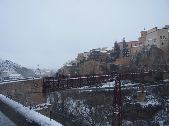 Cuenca nieve, nevada, temporal,frío