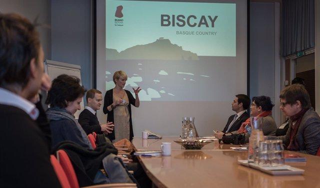 Bilbao-Bizkaia se presenta en la feria de Helsinki