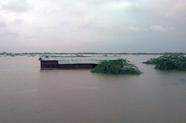 Inundaciones en Malaui