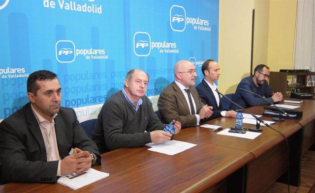 Presentación de los candidatos del PP en Arroyo, Medina del Campo y Tordesillas