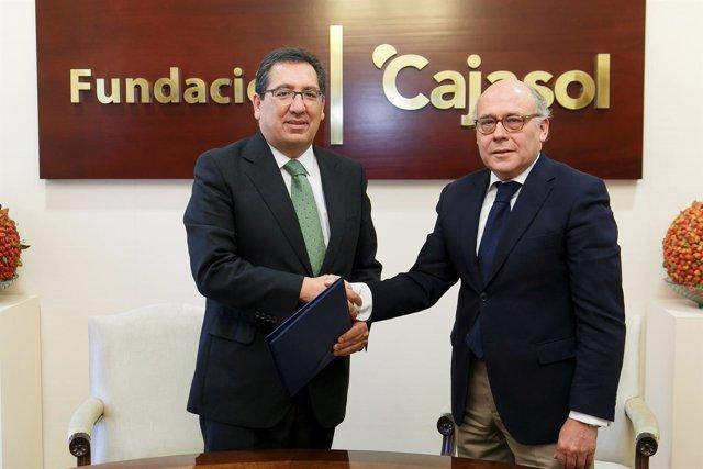 Fundación Cajasol y Real Betis impulsan la difusión del deporte entre escolares