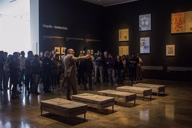Presentación de la exposición 'En tránsito' del IVAM