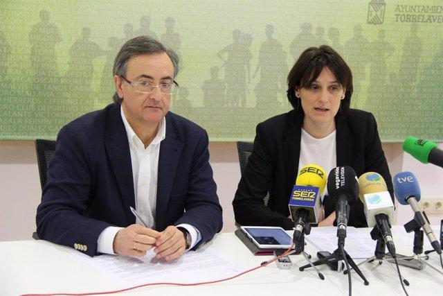 Lidia Ruiz Salmón y Pedro García Carmona