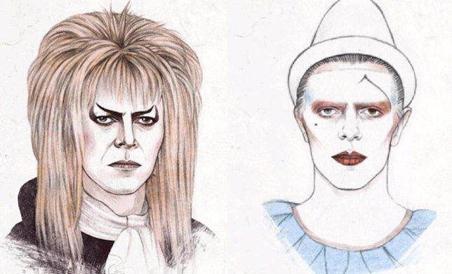 SÁBADO - Los looks de David Bowie en un gif