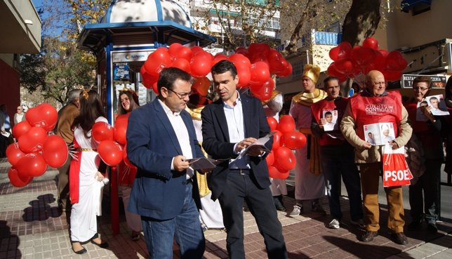 Miguel Ángel Heredia y José Bernal en Marbella