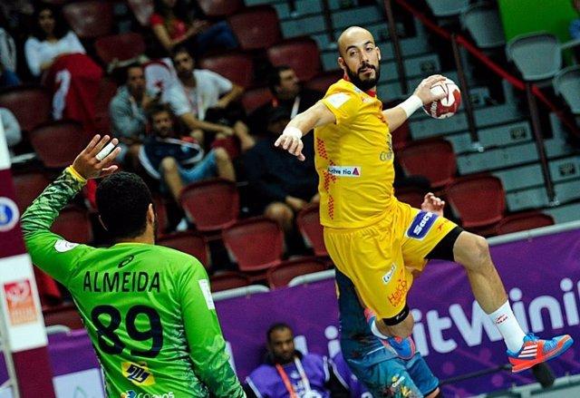 Albert Rocas selección española balonmano hispano Brasil Mundial Catar
