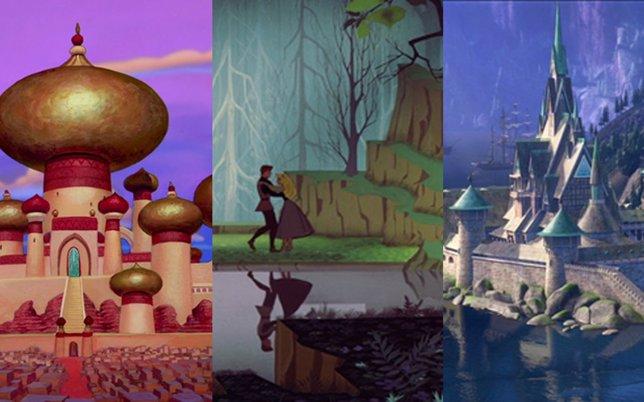 Lugares Que Inspiraron El Universo De Las Películas Disney