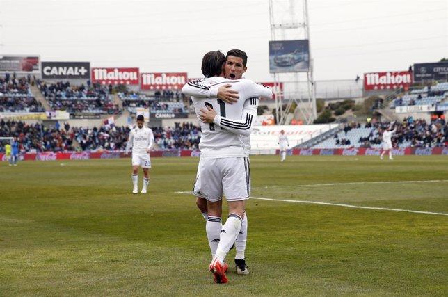 Real Madrid Cristiano Ronaldo Bale Getafe