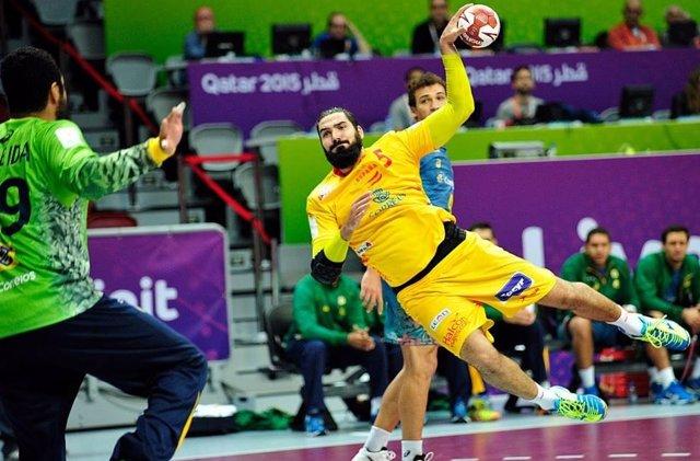 Jorge Maqueda selección española balonmano Mundial Catar