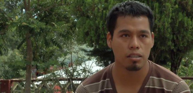 Omar García, normalista, Ayotzinapa