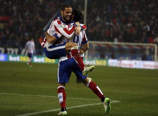 El Atlético se impone al Granada