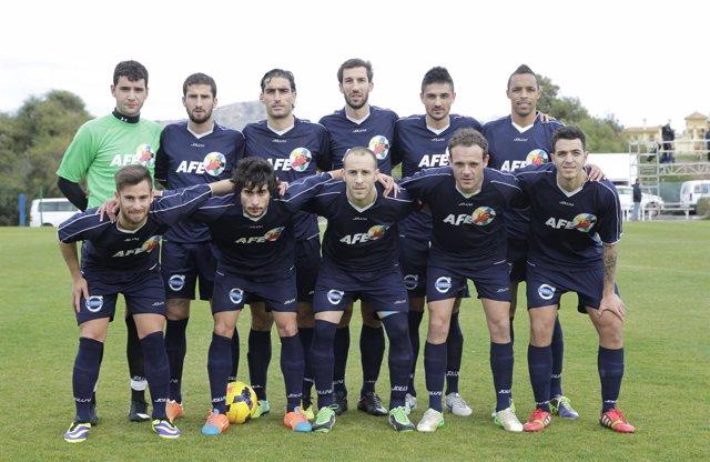 La selección AFE consigue un meritorio empate ante el Alianza de Lima peruano