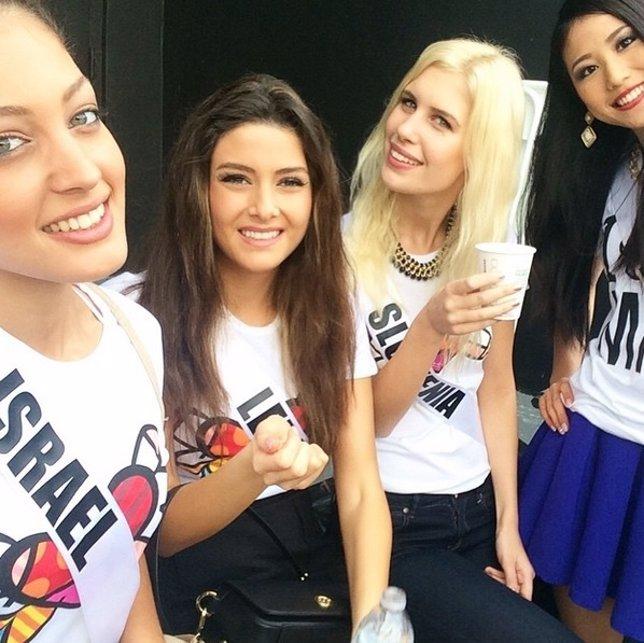 Miss Israel y Miss Líbano